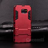 iphone 5 case iron man - Galaxy Note 5 Case, Cocomii Iron Man Armor NEW [Heavy Duty] Premium Tactical Grip Kickstand Shockproof Hard Bumper Shell [Military Defender] Full Body Dual Layer Rugged Cover Samsung N920 (Red)
