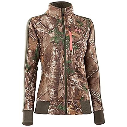 6966b6f0768e3 Under Armour UA Ayton Jacket - Women's Mossy Oak Treestand/Perfection Large