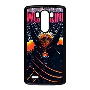 LG G3 Cell Phone Case Black Wolverine fgny