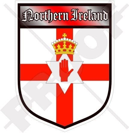 Ulster Rugby themed decal window sticker /& logo 60cm long or badge only free P/&P