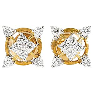 Love Binds 18K Gold Diamond Stud Earring