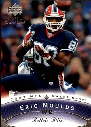 Amazon.com  2003 Sweet Spot Football Card  73 Eric Moulds Near Mint Mint   Collectibles   Fine Art 7d7dc9f00