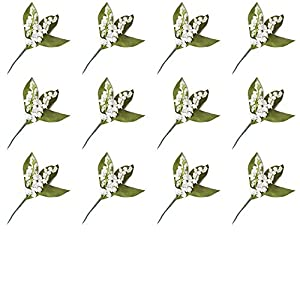 Factory Direct Craft Artificial Lily of The Valley Picks for Arranging and Decorating 2