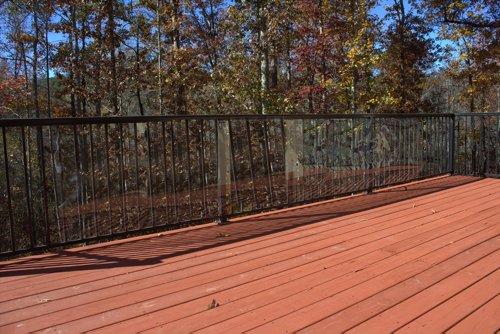 Cardinal Gates Outdoor Deck Shield for Pets, 15-Feet, Clear (Dog Deck)