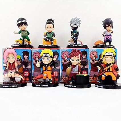 Amazon.com: Kakashi Gaara Sakura Rock Lee Nara Sasuke Sushi ...