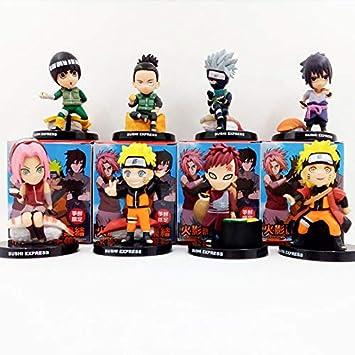 Amazon.com: Fallhuoz Naruto Kakashi Naruto Gaara Sakura Rock ...