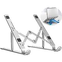 Coverzone Taşınabilir Katlanabilir Folding Alüminyum Dizüstü Bilgisayar Standı