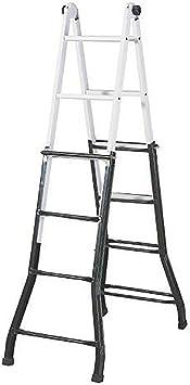 Sonecol 151102 Escalera multifunción 4x4 acero: Amazon.es: Bricolaje y herramientas