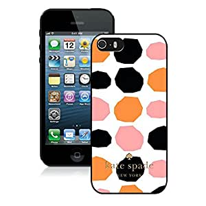 Personalized Popular Design iPhone 5 5S Case Kate Spade New York Phone Case For iPhone 5 5S Plastic Cover Case 112 Black