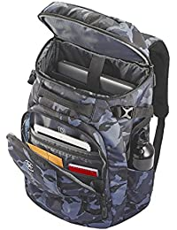 Grey Camo Laptop Backpack