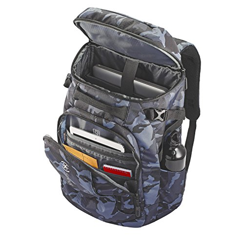 Grey Camo Laptop Backpack - Le Specks