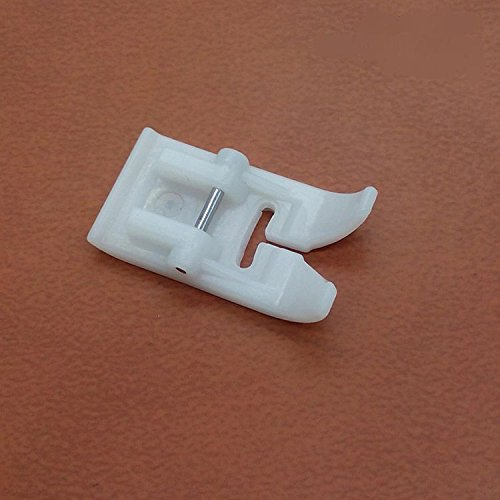 Non-Stick Zigzag Teflon Presser Foot /Feet snap on Singer, Brother, Babylock, Viking (Husky Series), Euro-pro, Janome, Kenmore, White, Juki, Bernina (Bernette Series), New Home, Necchi, Elna (Teflon Foot Bernina compare prices)