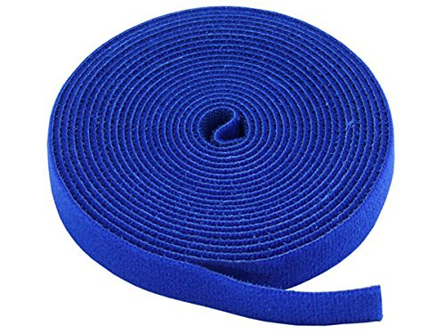 Blue Jackets Shops (Monoprice Hook & Loop Fastening Tape 5 yard/roll, 0.75-inch - Blue (105830))