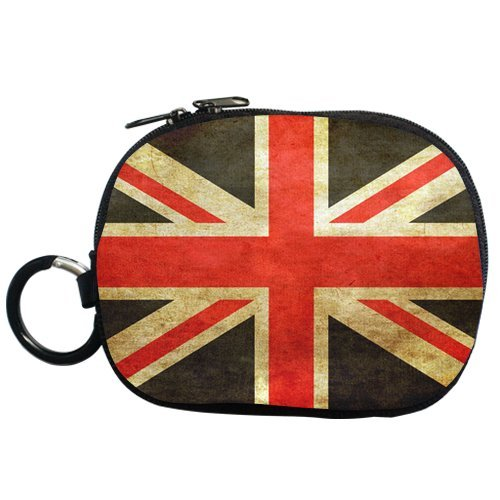 Retro Style British Flag Personalized Coin Purse (Two Side)