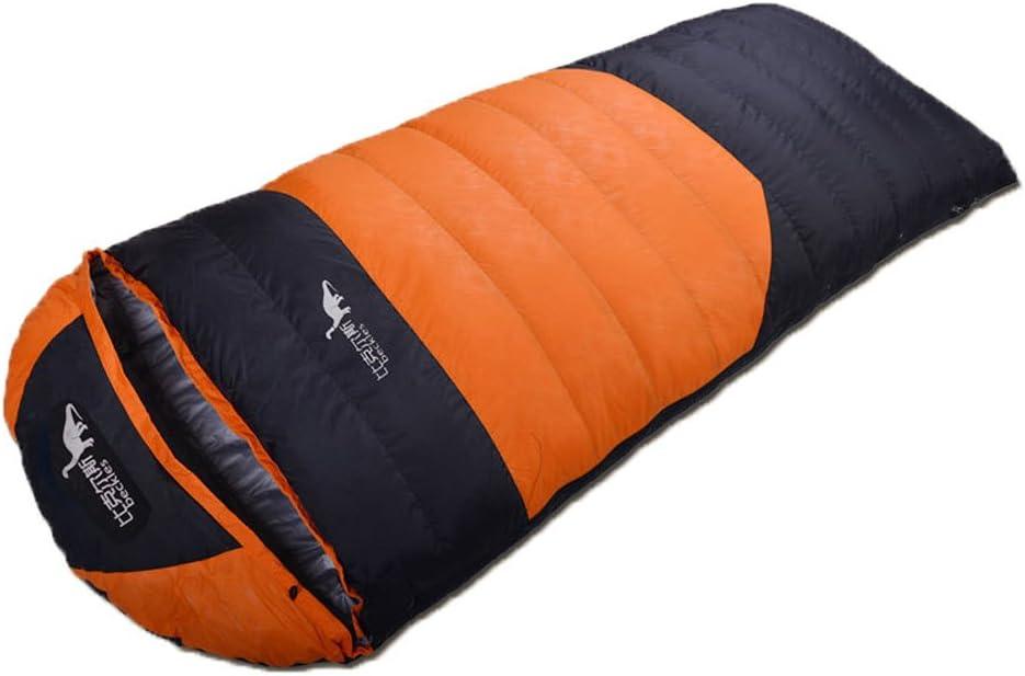 emansmoer Mens Womens Duck Down Water-resistant Outdoor Portable Envelope Sleeping Bag for Camping Hiking Travelling