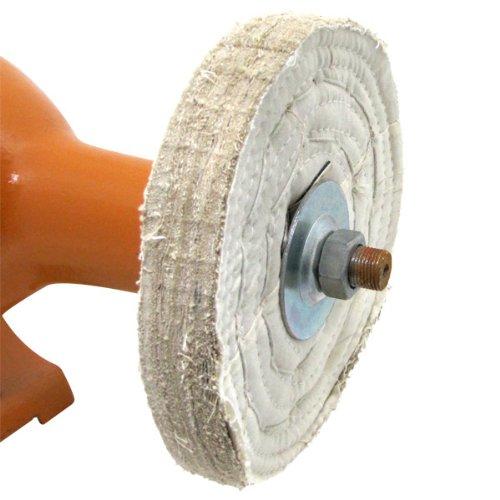 8 Inch 3450 RPM Bench Grinder Long Shaft Buffer Polisher Grinding Wheel Work Bench Buffing Wheel