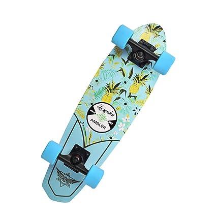 KD Skate pequeños Peces Bordo de plátano Bordo de Arce pequeños Peces Junta de Viaje Masculino