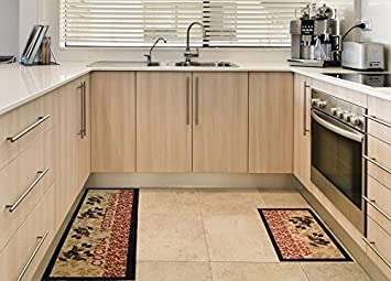 Bon Anti Bacterial Rubber Back Home And KITCHEN RUGS Non Skid/Slip 18u0026quot;