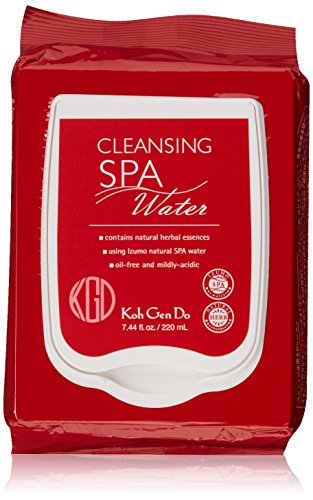 Koh Gen Do Spa Cleansing Water Cloth, Unscented, 40 ct. by Koh Gen Do (Image #5)