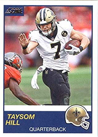 differently 71af5 9fd9d Amazon.com: 2019 Score Football #267 Taysom Hill New Orleans ...