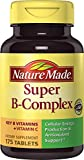 Nature Made Super B Complex, 525 Count (3 Bottles, 175 Count Each)