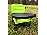 Portable Baby Booster Seat, Folding Baby Chair with Tray and Carrying Bag for Indoor or Outdoor Feeding Time or Playtime by Samana's Goods