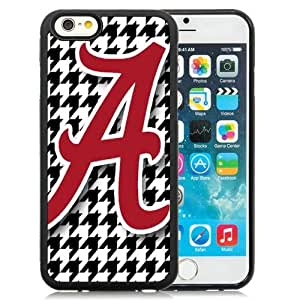 Great Quality iPhone 6 4.7 Inch TPU Case ,Beautiful And Unique Designed Case With Southeastern Conference Sec Football Alabama Crimson Tide 20 Black iPhone 6 Cover Phone Case
