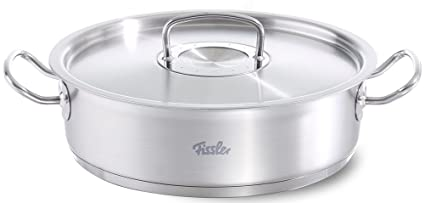 Fissler Original Profi Collection - Olla con tapa (28 cm, 4,7 litros)