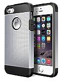 Geminiman iPhone 5S Case,iPhone SE Case, Hybrid Dual Layer Slim Case Flexible TPU Bumper & Hard PC Back Rugged Premium...