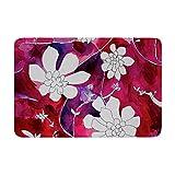KESS InHouse TW1009BBM02 Bath Mat Theresa Giolzetti ''Succulent Dance II'' Memory Foam Bath Mat, 24'' X 36'',,