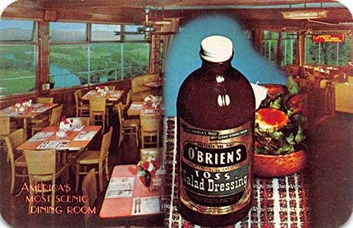 (Two Postcards O'Brien's Restaurant Route 17 in Waverly, New York~120871)