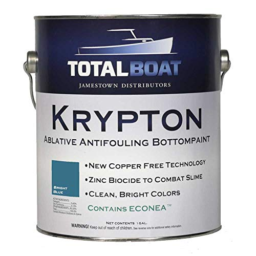 TotalBoat Krypton Bottom Paint (Bright Blue, Gallon)