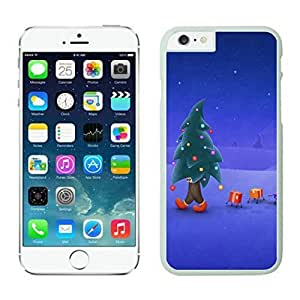 Iphone 6 cases,Christmas tree Iphone 6 (4.7)case White Cover