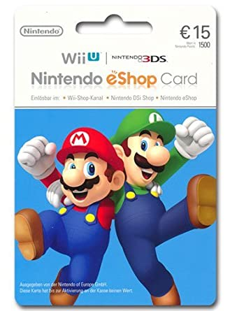 Nintendo Card 15 Euro: Amazon.es: Videojuegos