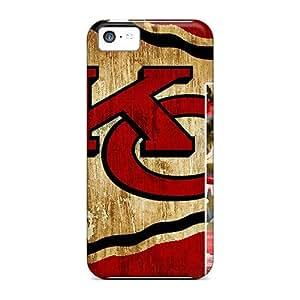 Hot Fashion Kgk1003ftmi Design Case Cover For Iphone 5c Protective Case (kansas City Chiefs)