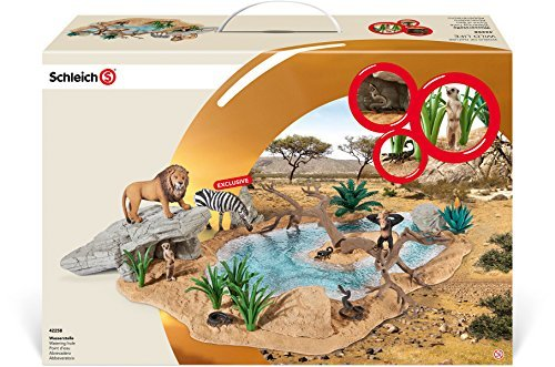 Schleich Watering Hole Educational Toy by Schleich