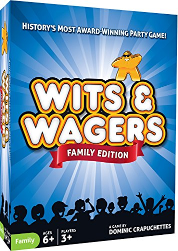 Family Trivia Games (North Star Games Wits & Wagers Family Edition - Kid Friendly Party Game and)
