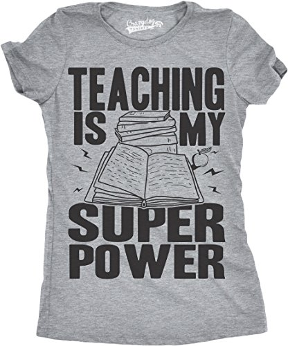 Womens Teaching is My Superpower Funny Teacher Superhero