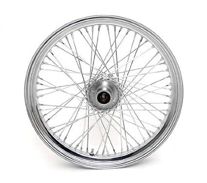 Amazon Com 21 X 3 25 60 Spoke Chrome Front Wheel For Harley