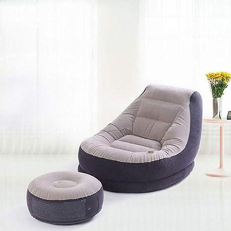 Myzixuan Original Inflable reúne Solo Lazy Sofa-Cama ...