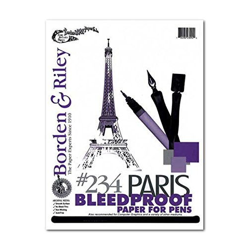 Paris Paper For Pens 9X12 (Bristol White Drawing Board)