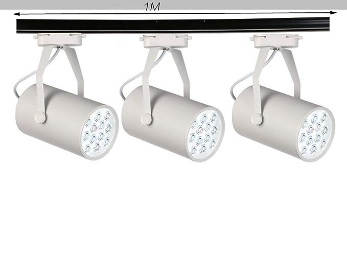 Binario lampada lampada da soffitto con 3 luci 12 w led spot