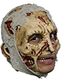 Zombie Deluxe Chinless Head Mask With Chinstrap Latex Halloween Mask by CC