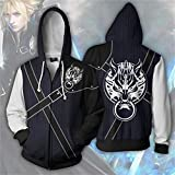 Mikucos Final Fantasy Coat Hooded Hoodie Sweater
