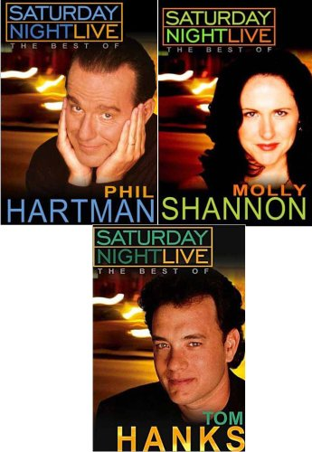 Saturday Night Live - The Best of Molly Shannon / Phil Hartman / Tom Hanks (3 pack) (Saturday Night Live The Best Of Tom Hanks)