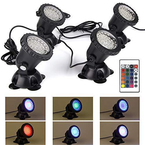 Underwater Color Changing Led Lights
