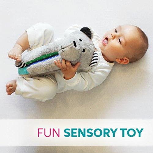 Whisbear Baby Sound Machine - The Best Sleep Soother on the Market - No More Sleepless Nights and Sleep Deprivation with this Award Winning White Noise Teddybear (Citron) by Whisbear (Image #5)