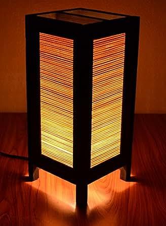 Decorative Lamp Thai Vintage Handmade Asian Oriental