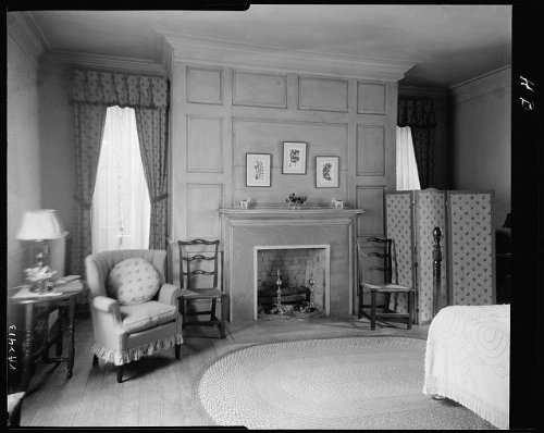 Photo: Brandon,houses,fireplaces,panels,screens,Surry,Virginia,Architecture,South,1931 by Infinite Photographs