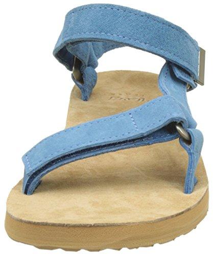 Teva Original Universal Suede WS - Sandalias con Tacón Mujer Azul (Blue)